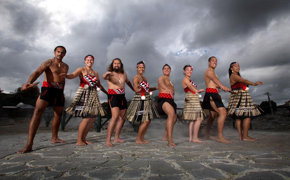 Kapahaka at Rotorua