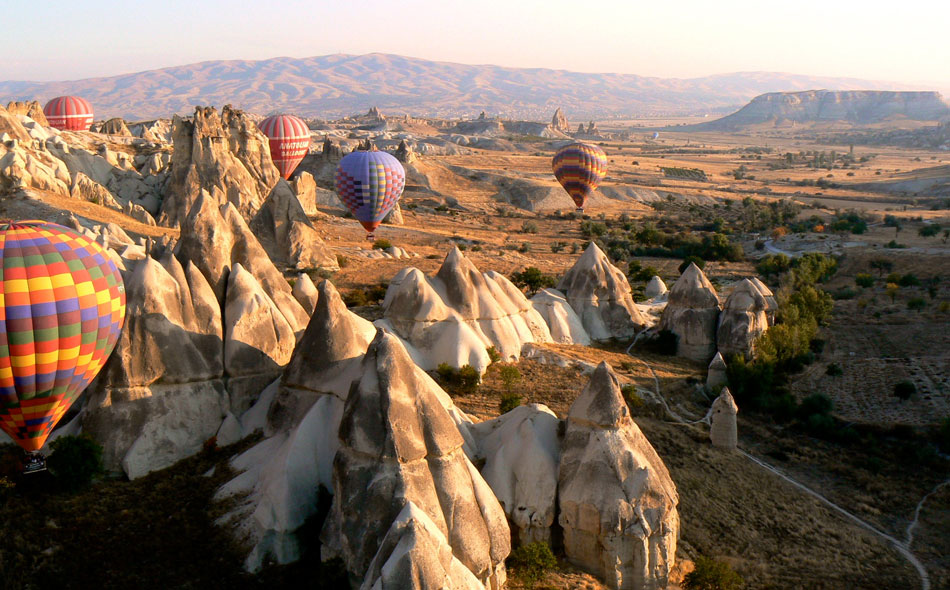 Ballooning over Turkey