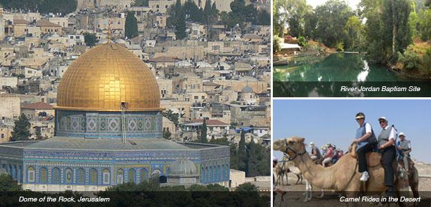 Jerusalem, Jordan, Camel Riding montage