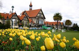 Government gardens Rotorua
