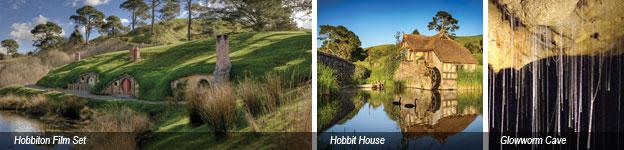 Auckland-Waitomo-Hobbiton