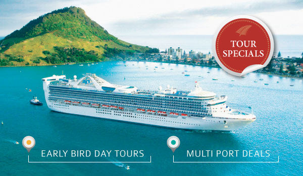 Cruise Ship Shore Excursions from Tauranga