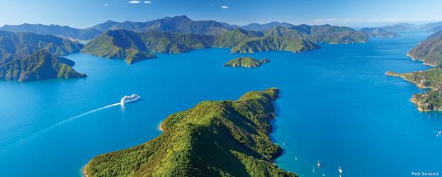 south island cruiseship