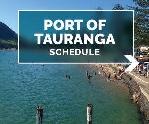 port of tauranga cruiseship schedule