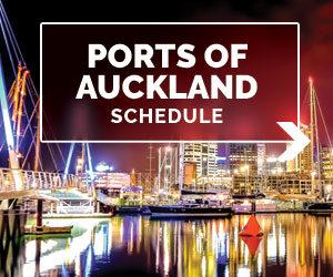 port of auckland schedule