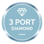 diamond badge