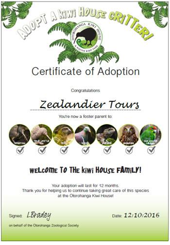 native bird adoption