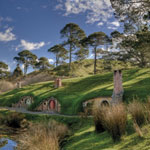 Hobbiton Lord of the Rings NZ pic