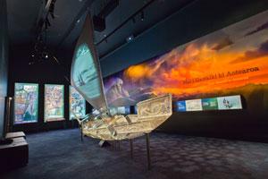Rotorua Museum Canoe