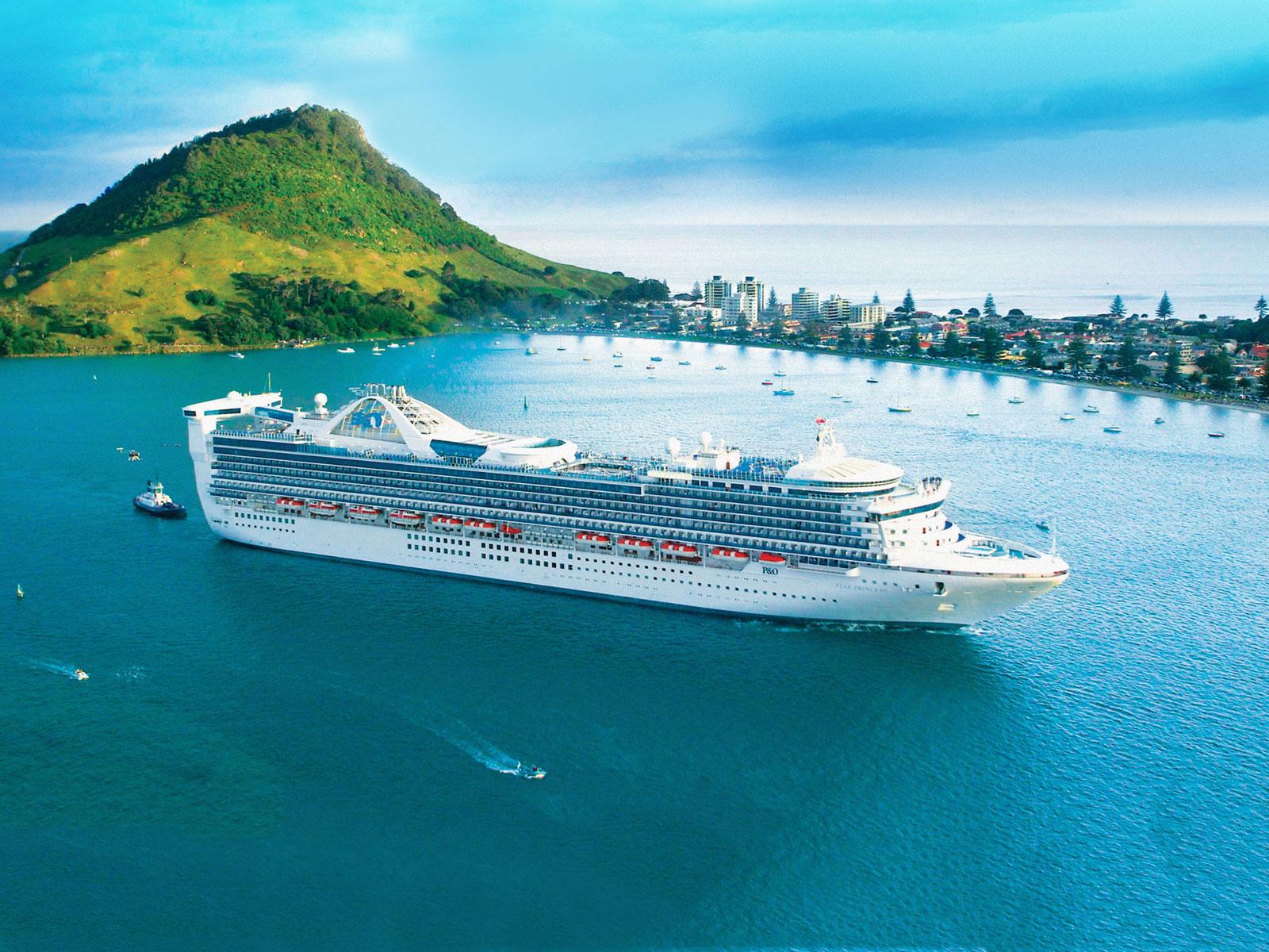 Tauranga Port Cruise ship
