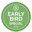 early bird badge